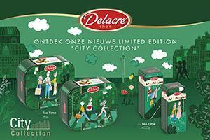 Delacre presenteert zijn City Collection